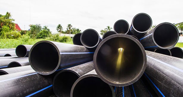 pe pipes transporting fluids under pressure