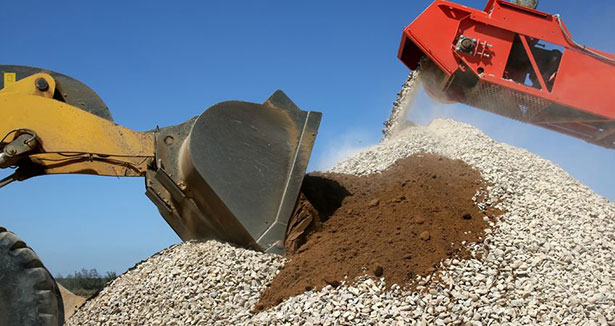Aggregates - Residues of concrete